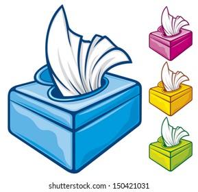 tissue boxes (wipes)
