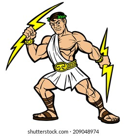 Titan Mascot