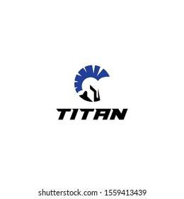 Titan vector logo graphic modern abstract