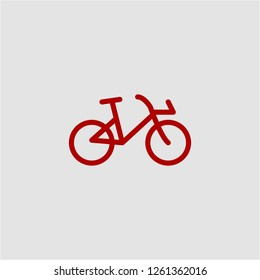 Title: Filled bicycle super icon. Bicycle vector illustration for graphic design. Bicycle symbol.