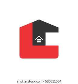 TL letter with home logo design vector