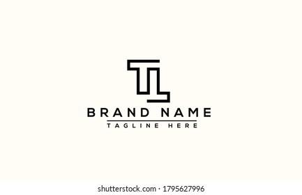 TL Logo Design Template Vector Graphic Branding Element.