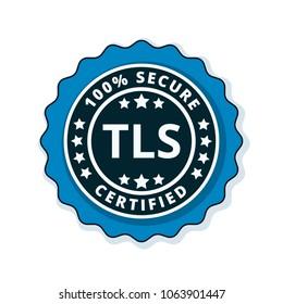 TLS Certified label illustration