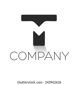 TM letter logo
