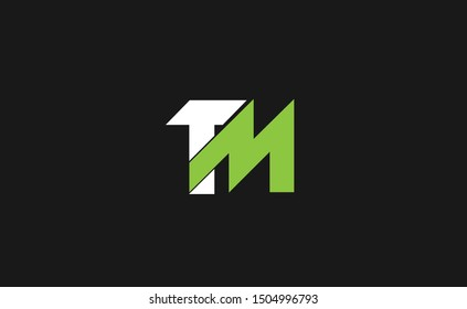 TM letter Logo Design Template Vector
