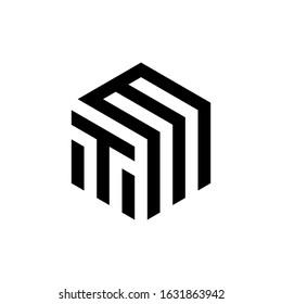 TM letter logo vektor icon template