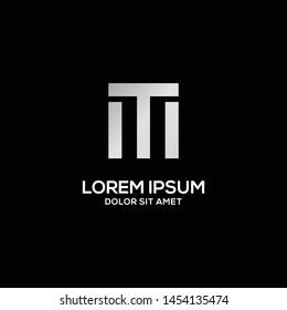 tm letter vector logo template eps 10