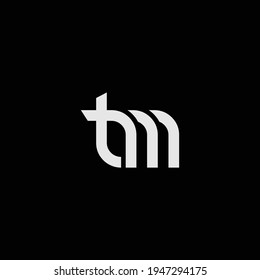 TM or MT abstract outstanding professional business awesome artistic branding company different colors illustration logo