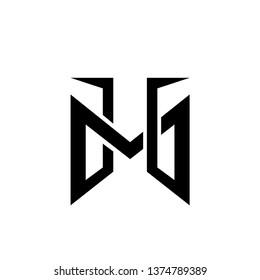 TM, MT and bike logo concept