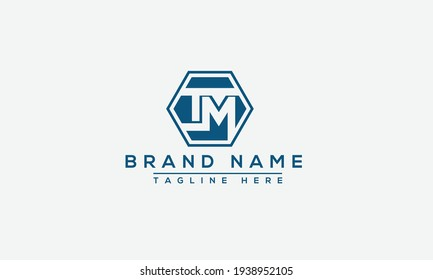 TM, MT Logo Design Template Vector Graphic Branding Element.