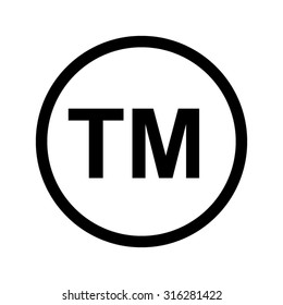 tm  - vector icon