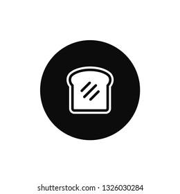 Toast rounded icon