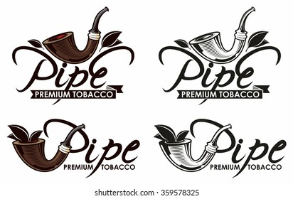 Tobacco pipe logo