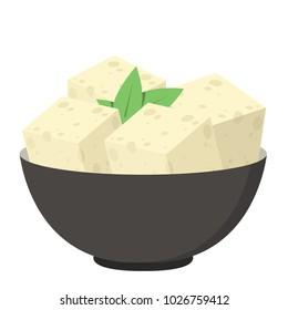 Tofu vector.
