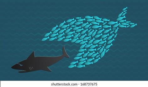 Together we stand: Big Little Fish eats Big Fish