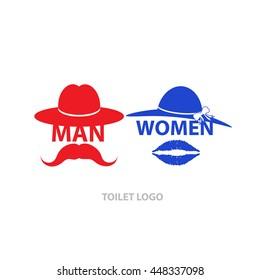 Toilet funny wc restroom symbols