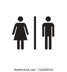 toilet icon male and female