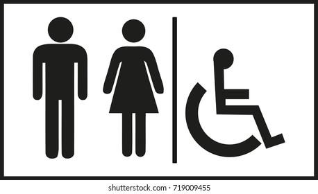 Toilet information icon