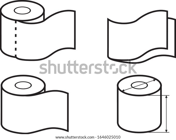 toilet-paper-roll-set-icons-600w-1646025