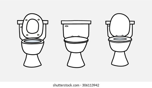 Cartoon Toilet Images Stock Photos Amp Vectors Shutterstock