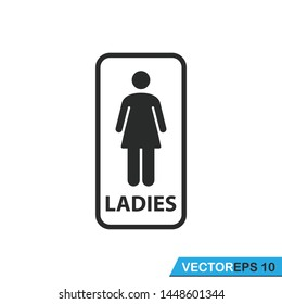 toilet  sign icon vector design illustration