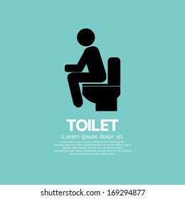Toilet Vector Illustration EPS10