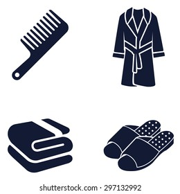 Toiletries vector icon