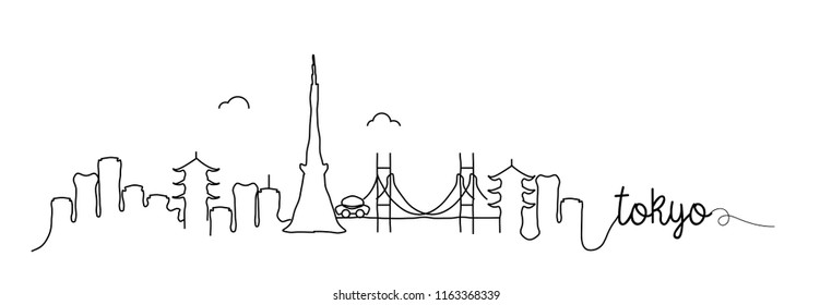 Tokyo Skyline Signature Design