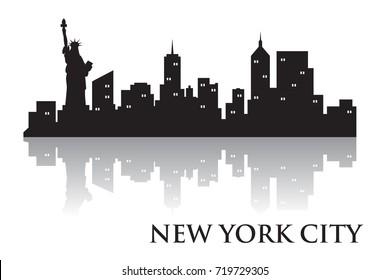 Tokyo Skyline Silhouette Skyline  Vector City Design