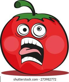 tomato cartoon images stock photos vectors shutterstock rh shutterstock com cartoon tomato with eyes cartoon tomato in sunglasses