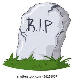 tombstone cartoon images stock photos vectors shutterstock rh shutterstock com cartoon tombstone images cartoon tombstones pictures