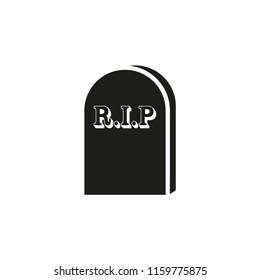 tombstone vector icon