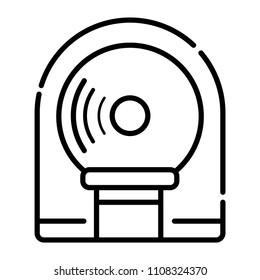 Tomography Icon vector