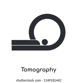 Tomography icon vector isolated on white background for your web and mobile app design, Tomography logo concept