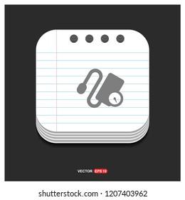 tonometer icon - Free vector icon