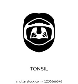 Tonsil icon. Tonsil symbol design from Human Body Parts collection.