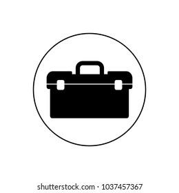 Tool case icon, logo