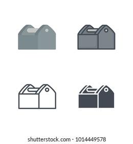 Tool kit renovation service icon