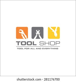 Tool shop logo