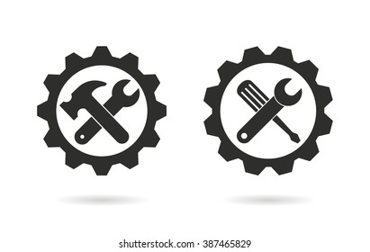 Tool    vector icon. Black  illustration isolated on white  background for graphic and web design.