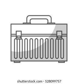 toolbox drawn icon image vector illustration design