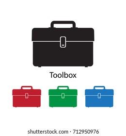 Toolbox icon vector illustration.