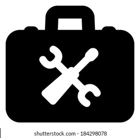 Toolbox vector icon