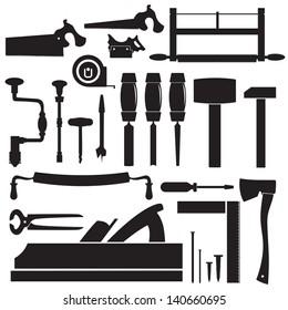 tools of the carpenter