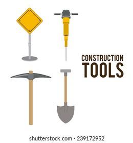 Tools design over white background,vector illustration.