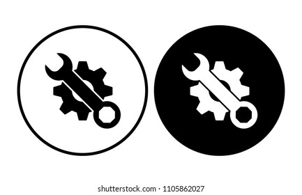 Tools icon. Vector illustration