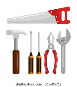 tools kit equipment icon