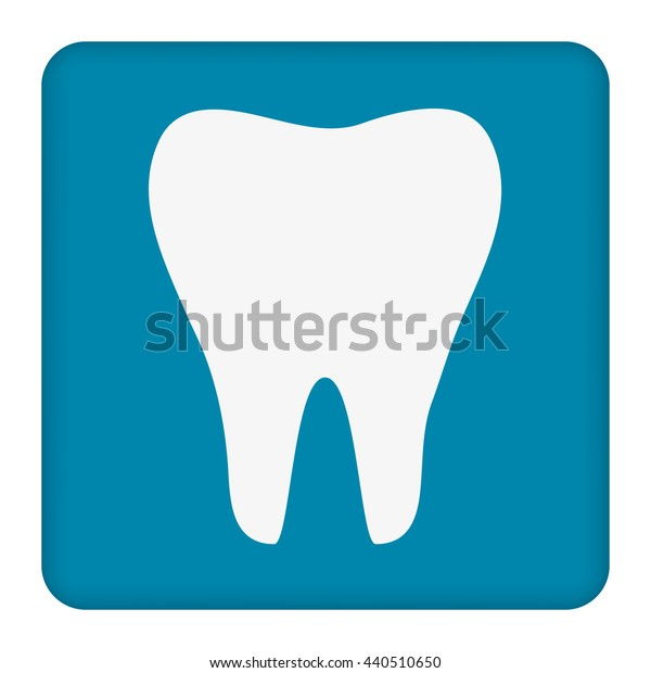 Tooth icon. Healthy tooth.Vector illustration.