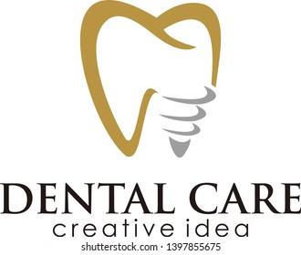 Tooth Logo Icon Design Template