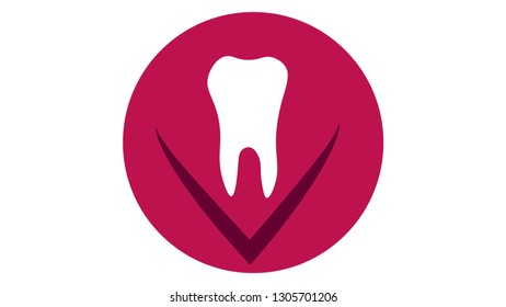 Tooth logo vector design. Tooth icon. Dental logo
